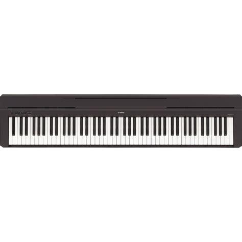 Piano Yamaha P 45 yamaha p45 digital piano black at gear4music