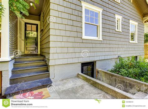 simple portico for clapboard sided home designed by georgia front porch porticos with curb backyard small porch house exterior design stock photo
