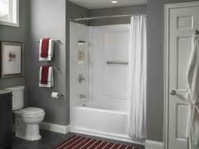 bathroom tub surround kits shower inserts bathtubs home