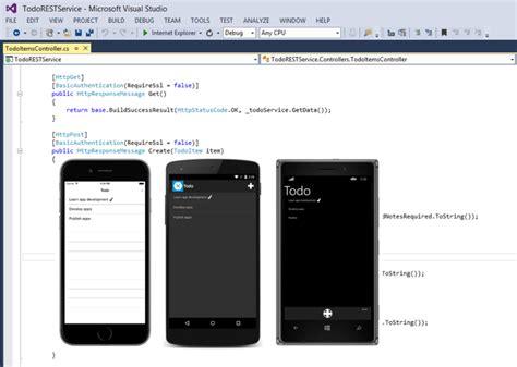 xamarin service tutorial consuming a restful web service xamarin