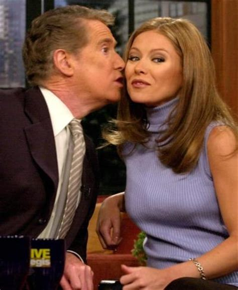regis philbin and kelly ripa have not spoken in over three regis philbin hasn t talked to kelly ripa since he left