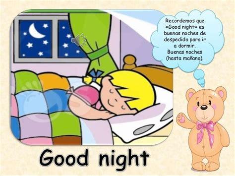 imagenes en ingles good night los saludos y presentacin personal en ingles 7 638 jpg