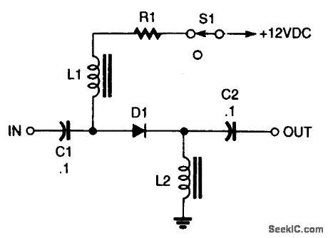 pin diode switch circuit pin diode switch circuit 28 images pin diode tr switch switch circuit
