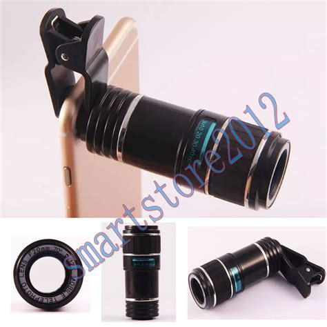 12x zoom optical telephoto telescope lens for iphone samsung htc mobile ebay