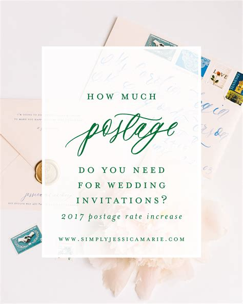 how to save on postage for wedding invitations how much postage do you need for wedding invitations
