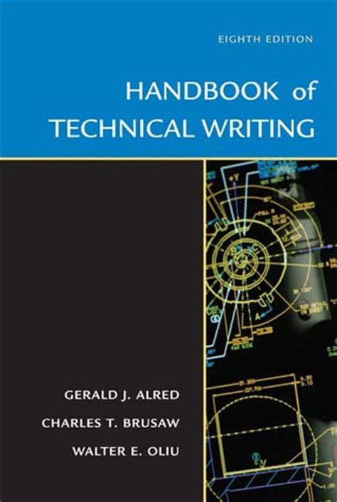 the handbook of technical writing handbook of technical writing by gerald j alred reviews