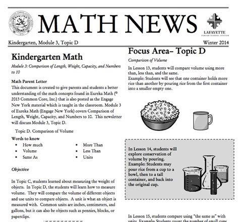 Parent Letter Eureka Math 109 Best Images About Grade K Eureka Math On Number Bonds And Parent Newsletter