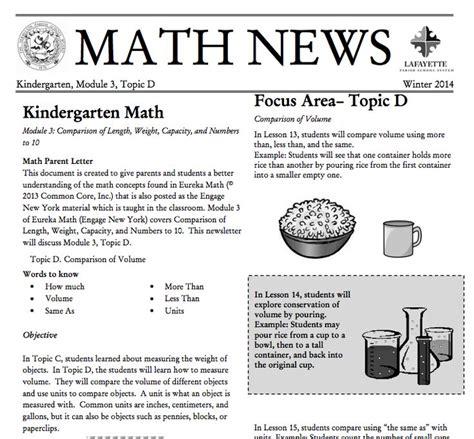 Parent Letter Eureka Math 109 Best Images About Grade K Eureka Math On Number Bonds And Parent Newsletter