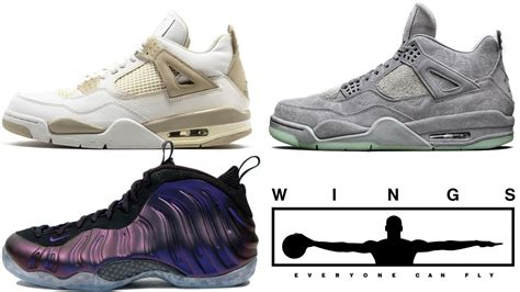 Air 4 Wings air 1 wings 4 linen kaws release date foosite one eggplant and more