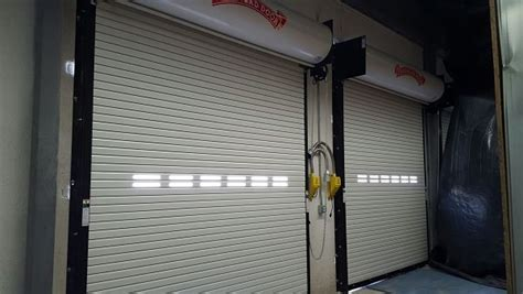 Commercial Overhead Doors Loading Dock Equipment Overhead Roll Up Door