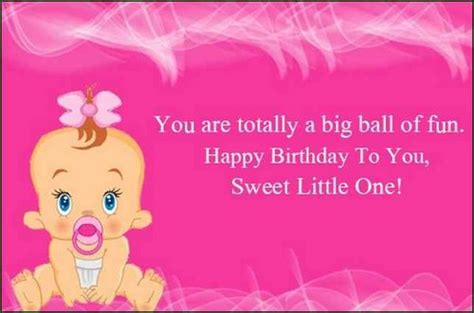 Wishing My Baby Happy Birthday Happy Birthday Wishes For Baby Girl Birthday Messages