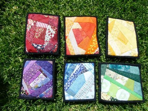 Small Patchwork Projects Free - scrap quilting patterns to use up your stash