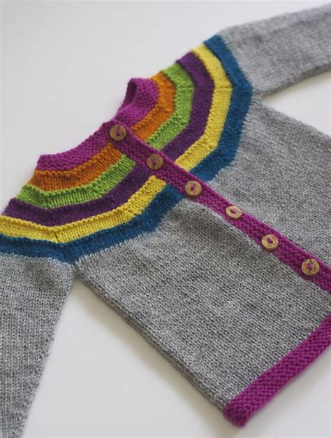 ravelry knitting patterns right as rainbow baby cardigan pattern by lotven