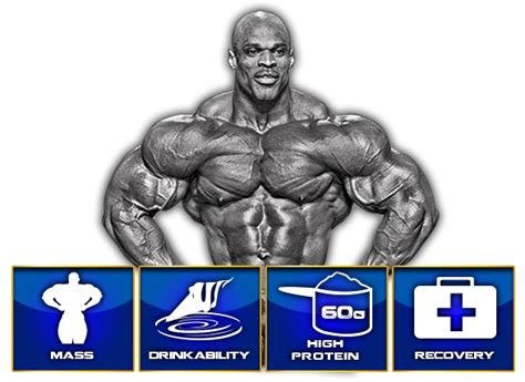 King Mass Gainer Ronnie Coleman ronnie coleman king mass xl anabolic gainer protein