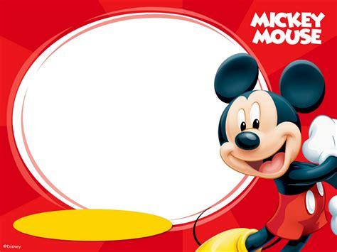 imagenes geniales de mickey mouse marcos png de mickey mouse para ni 241 os marcos gratis
