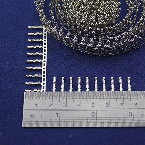 2pin Jumper 01 254mm 100pcs dupont pin crimp pin jumper terminal connector terminal metal 2 54mm in terminals