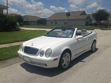 convertible mercedes 2000 find used 2000 mercedes clk430 convertible in miami
