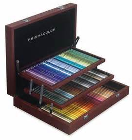 artist quality colored pencils artist review prismacolor premier colored pencil wood box