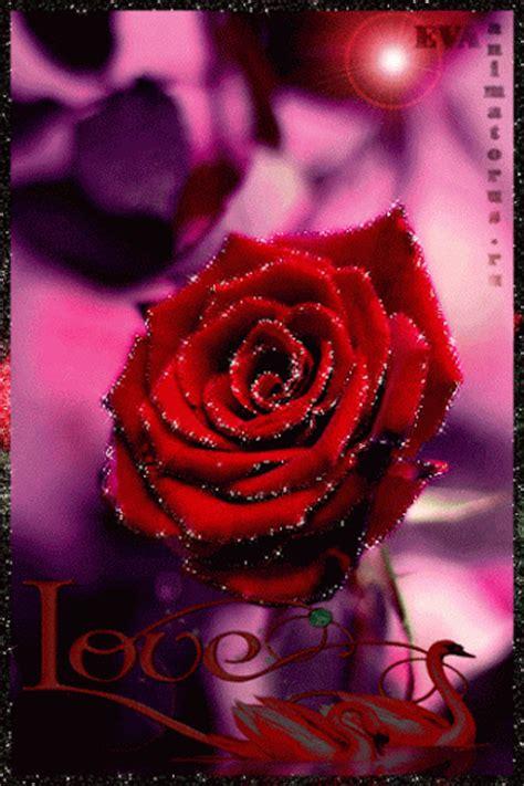imagenes lindas que brillen im 225 genes de amor con movimiento rosas rojas con