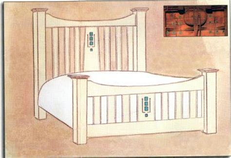 Home Design Bedding New Charles Rennie Cr Mackintosh Beds Amp Painted Bedroom