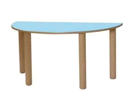 tavoli per bambini in legno tavolo in legno con forma di semicerchio per bambini