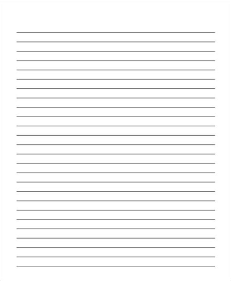 wide lined writing paper 22 lined paper templates free premium templates