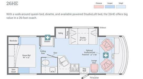 winnebago floor plans crowley rv dealership 2017 winnebago era bristol ct