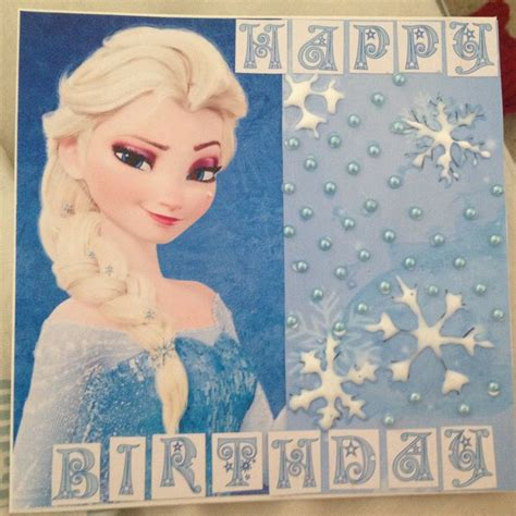 printable birthday cards elsa 21 best images about frozen ideas on pinterest
