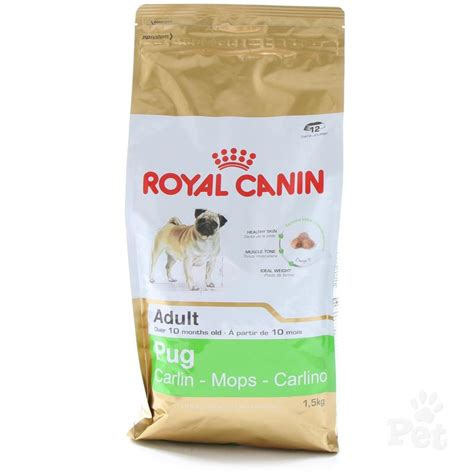 pug puppy diet royal canin pug food
