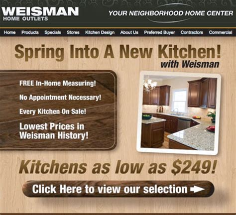 weisman home outlets