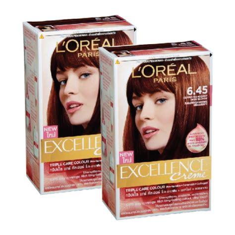 Loreal Cat Rambut jual loreal excelent creme colorant cat rambut box
