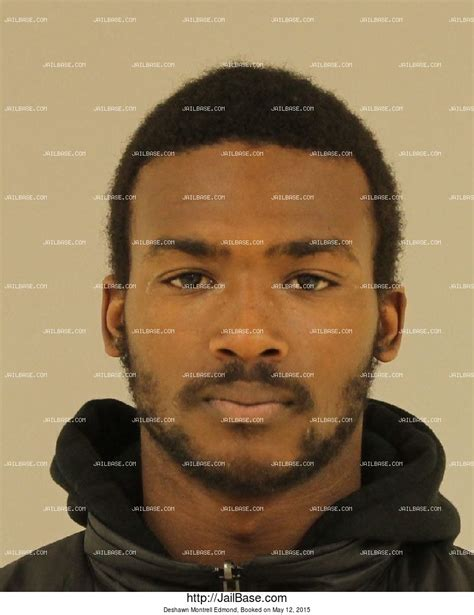 Edmond Arrest Records Deshawn Montrell Edmond Arrest History