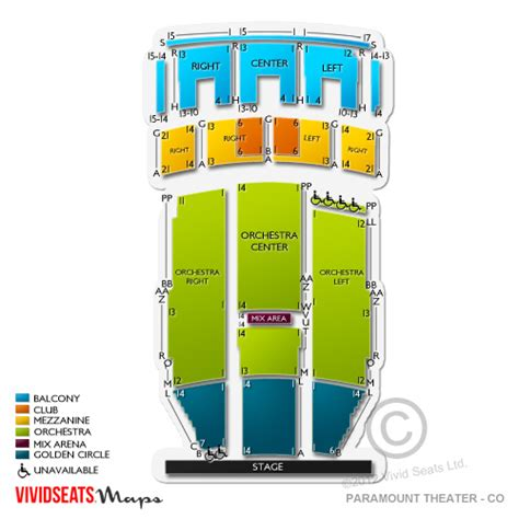 paramount theatre denver seating chart paramount theatre denver seating chart seats