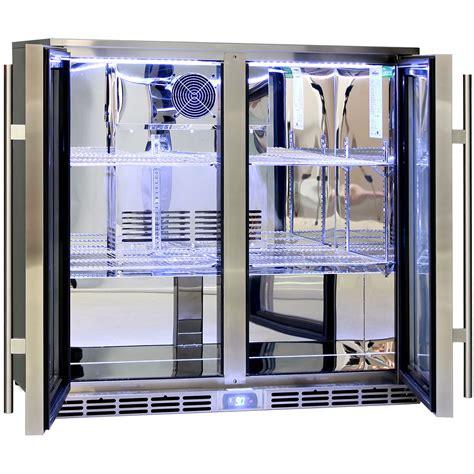 Rhino 2 Door Alfresco Outdoor Glass Door Bar Refrigerator Glass Door Bar Fridge Perth