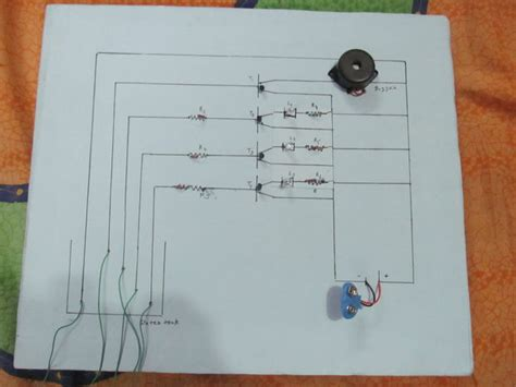 why resistors are used in water level indicator water level indicator with alarm