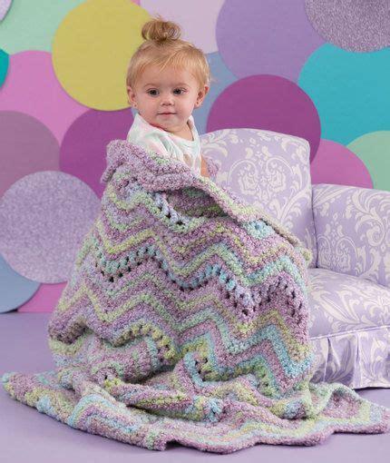 splendid ripple throw free crochet pattern from red heart ripple baby blanket free crochet pattern from red heart