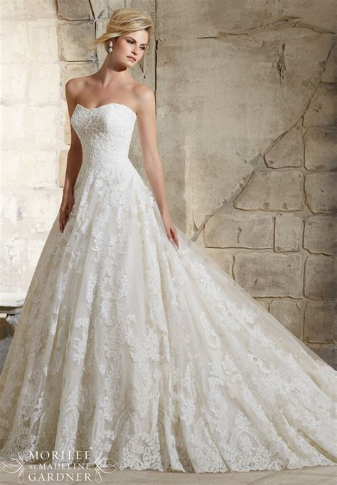 Wedding Dresses Style 2787 by Dress Mori Bridal Fall 2015 Collection 2787