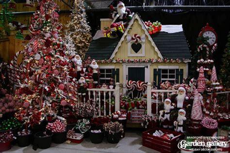 holiday season garden center nursery ideas commercial