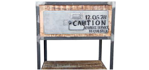 Table De Chevet Acier by Table De Chevet Vintage Industriel Acier Et Bois