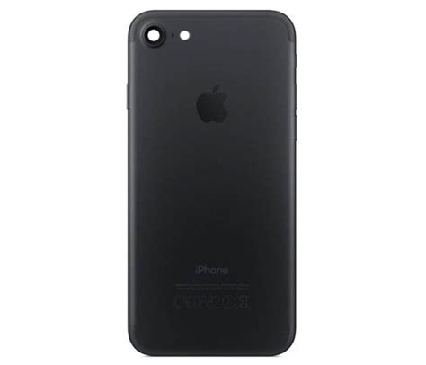 All Matte For Iphone 5 6 6p 7 7p iphone 7 back housing black