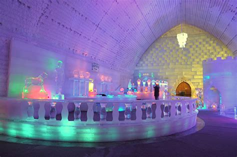 hotel de glace canada ice hotel quebec canada world for travel