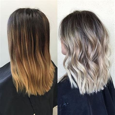 medium hair with blonde balayage hifow quick easy 10 easy everyday hairstyle for shoulder length hair 2018