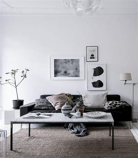 Black And White Scandinavian Interiors by Black White And Via Coco Lapine Design Home Black White Black And Design