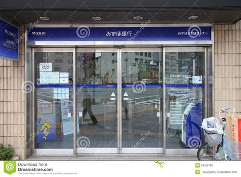 mizuho bank frankfurt mizuho bank editorial image image 34165790