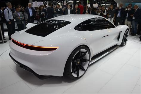 porsche prototype porsche stuns frankfurt with all electric mission e sports