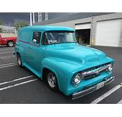 1956 F100 Custom FORD Panel Truck For Sale