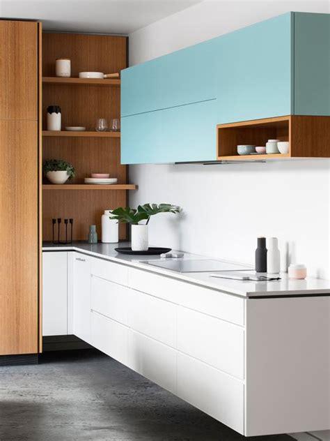 desain kitchen set hpl minimalis  modern