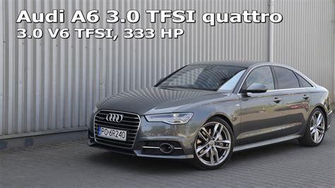 Audi A6 Acceleration by Audi A6 3 0 Tfsi Quattro 333 Hp Acceleration 0 100 0