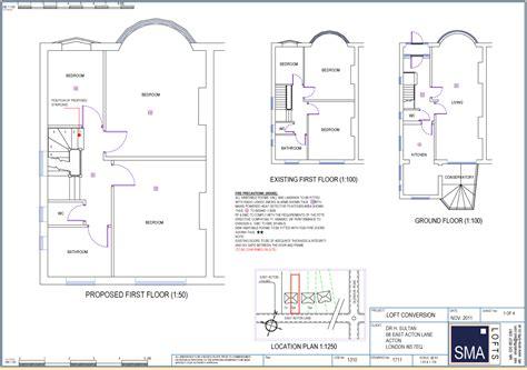 loft conversion floor plans terraced house loft conversion plans house design plans