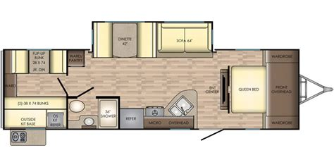 sunset trail rv floor plans full specs for 2018 crossroads sunset trail super lite